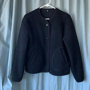 Uniqlo Sherpa fleece lined jacket